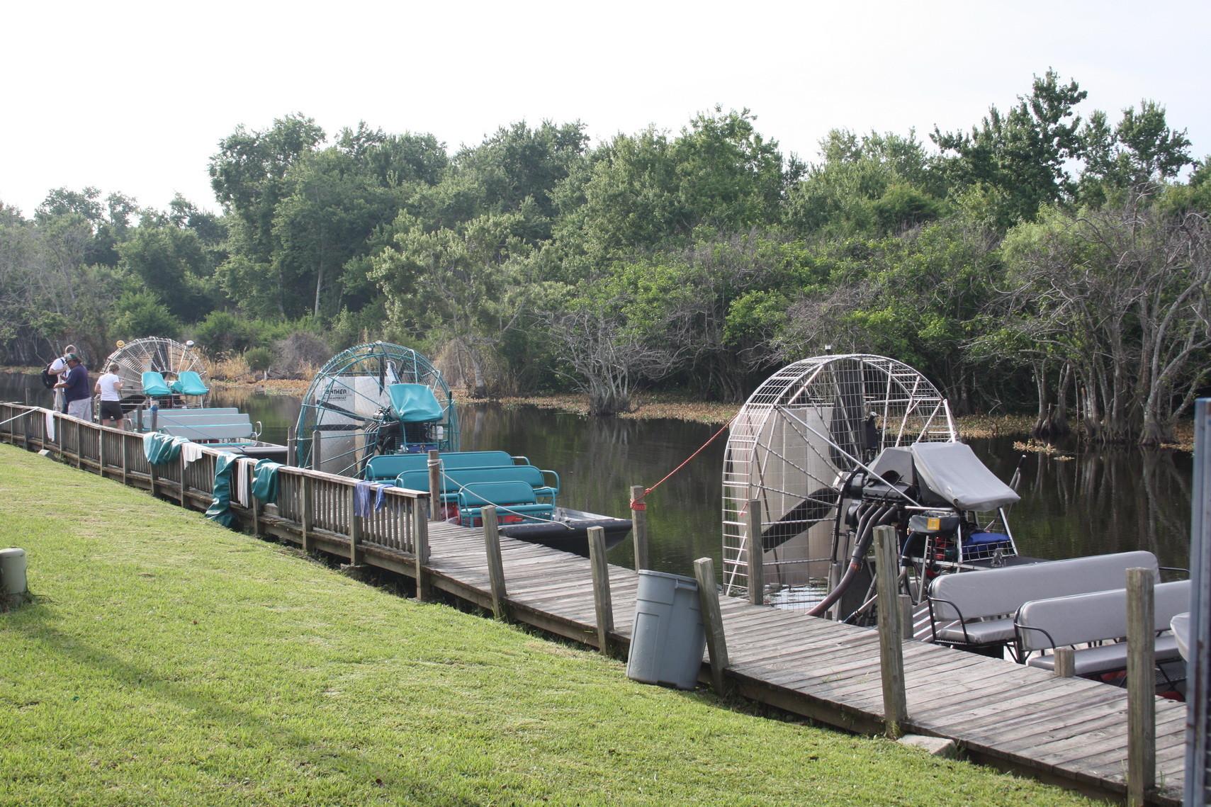 Kleiner Hafen in den Everglades