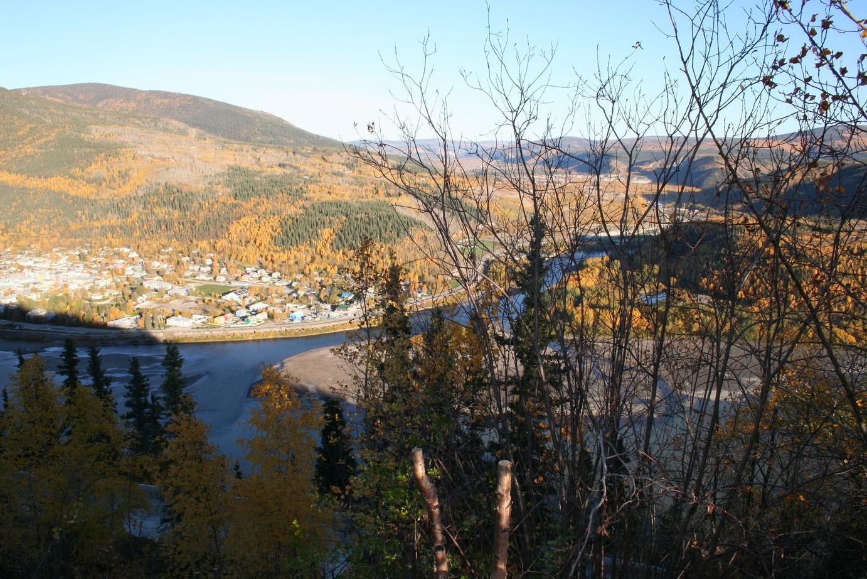 Der Yukon mit Dawson City