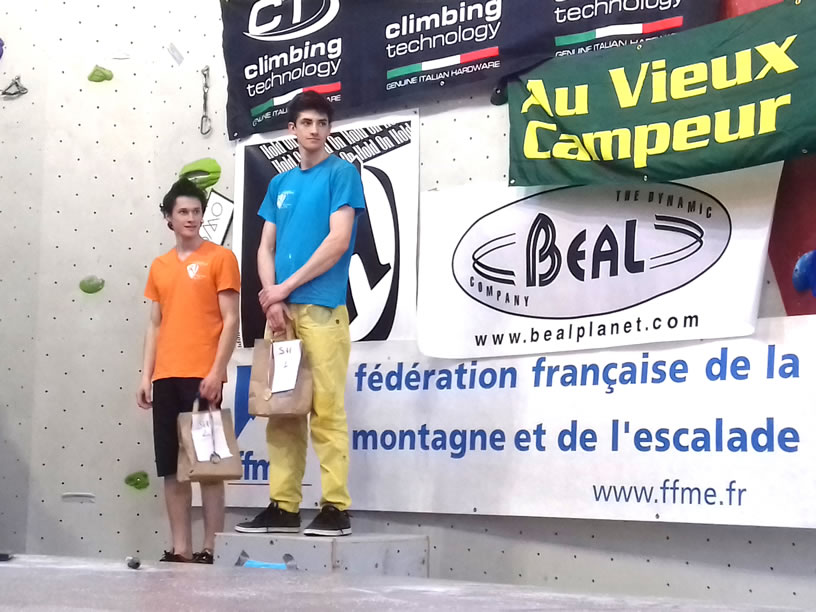 podium sénior homme
