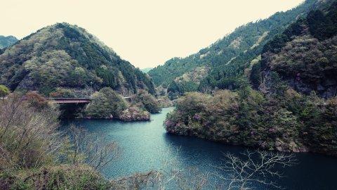 安富ダムの写真