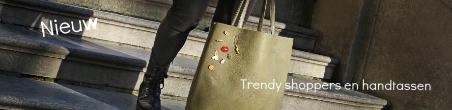 Shop nu leuke tassen en trendy shoppers bij Ikke sieraden