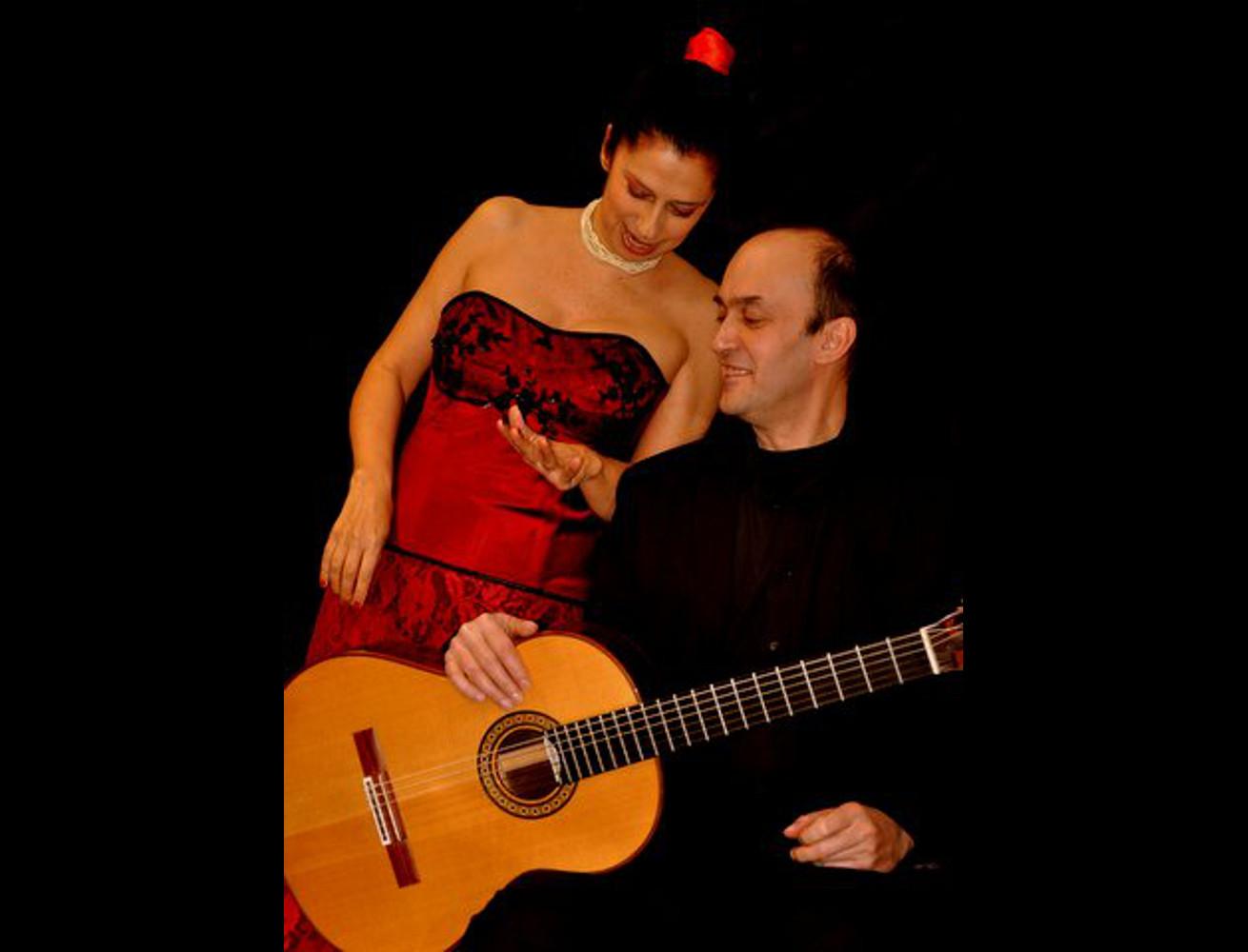 "Anna Feu-Joël Rusch. ""La femme et la guitarre"""