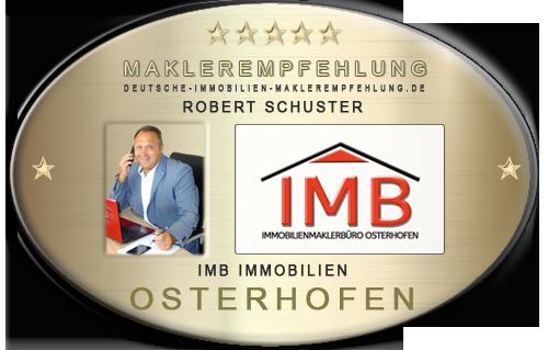 IMMOBILIENMAKLER OSTERHOFEN ROBERT SCHUSTER IMB IMMOBILIEN MAKLER IMMOBILIENANGEBOTE MAKLEREMPFEHLUNG IMMOBILIENBEWERTUNG IMMOBILIENAGENTUR IMMOBILIENVERMITTLUNG