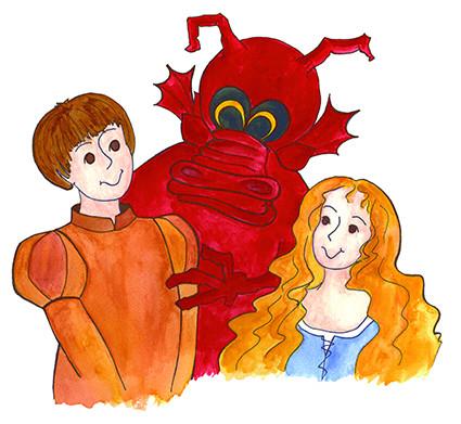 Guilhem, Guillemette et le dragon Gentil