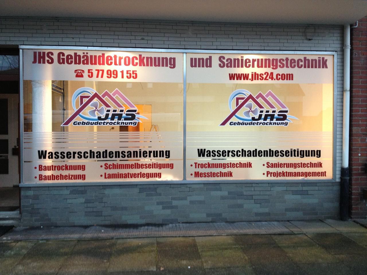 Bautrocknung in Bremen und Niedersachsen JHS Gebäudetrocknung