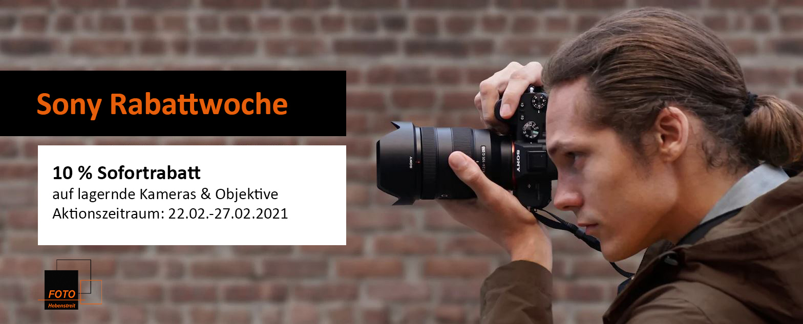 Sony Rabattwoche - 10% sparen