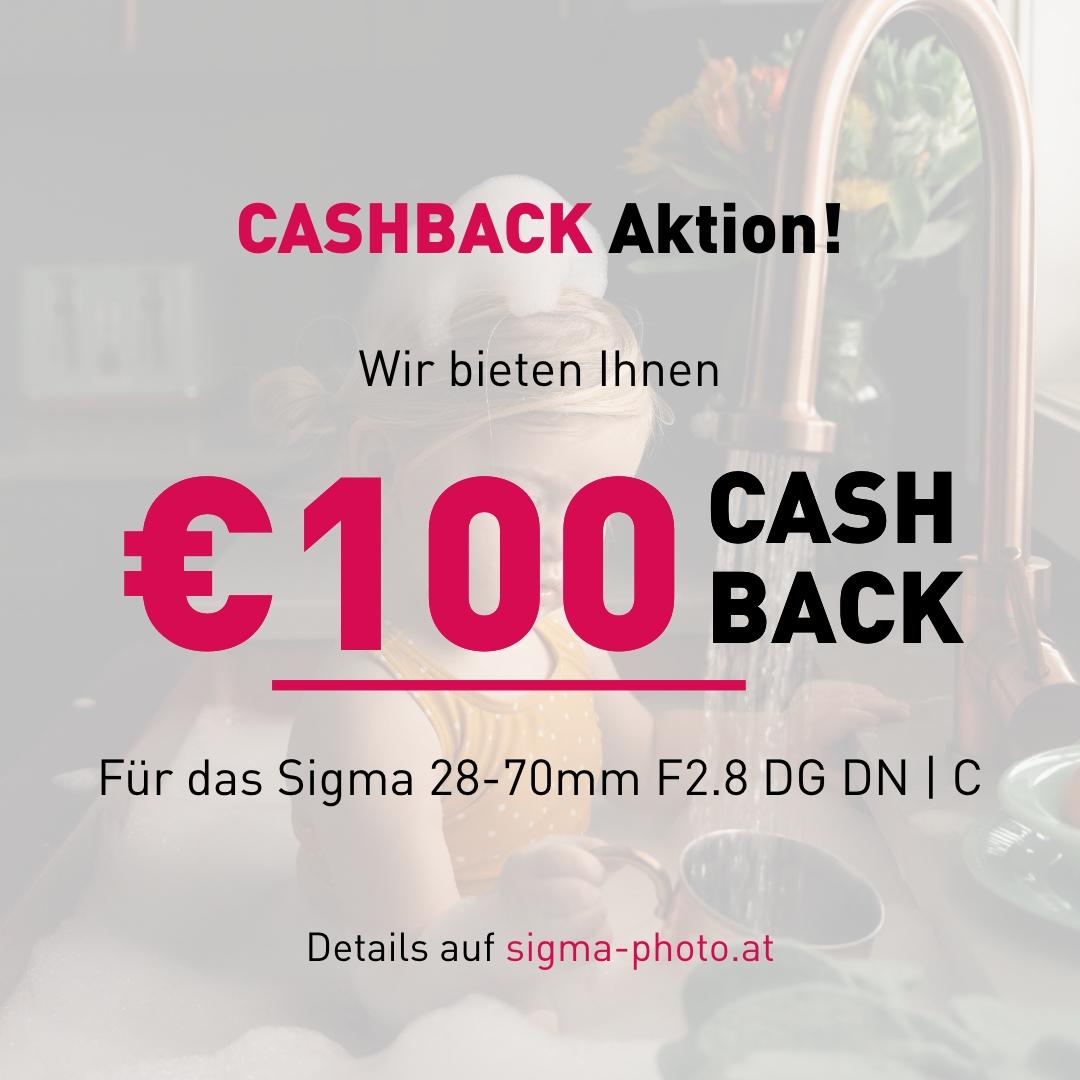 Sigma 100€ Cashback-Aktion