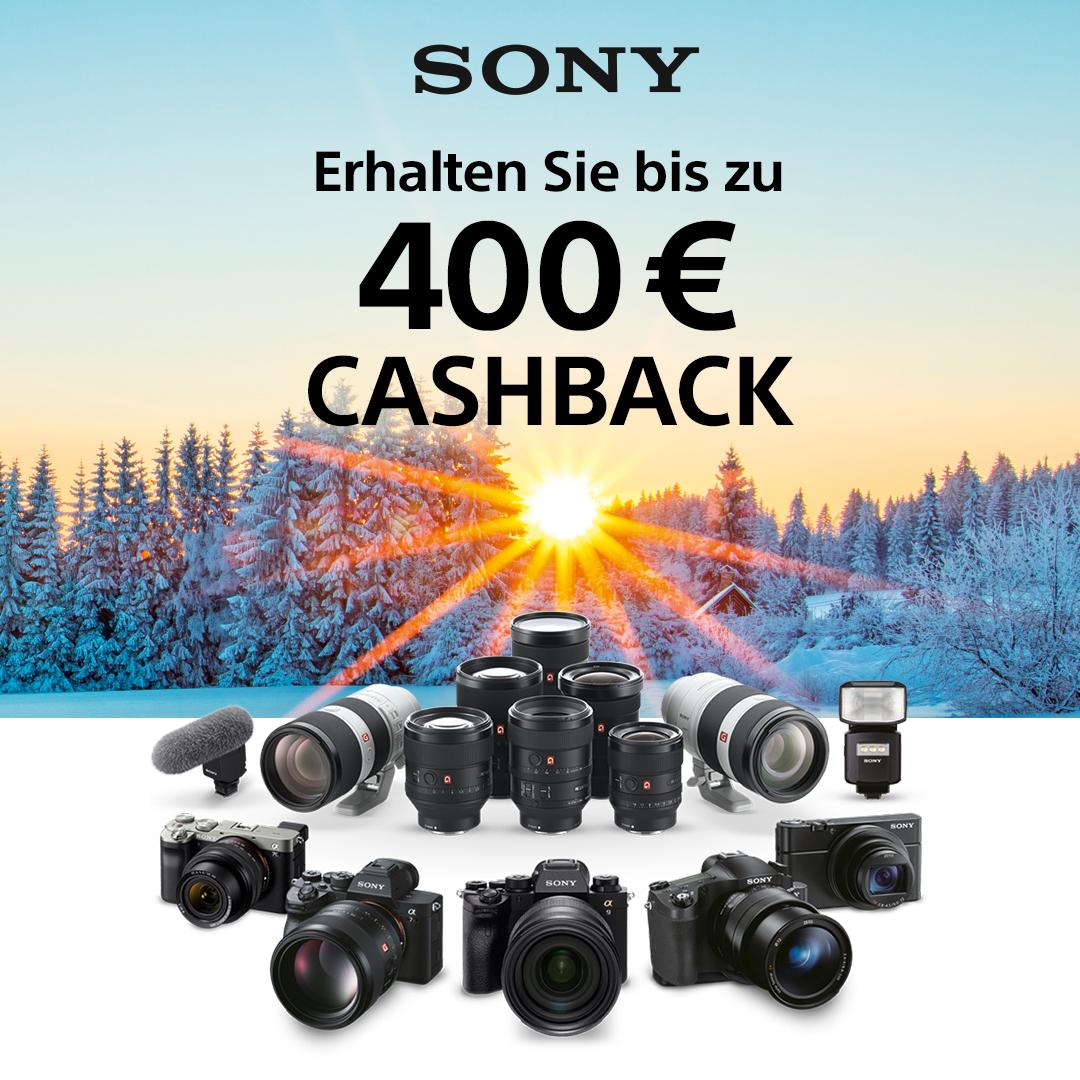 Sony Winter Cashback Aktion