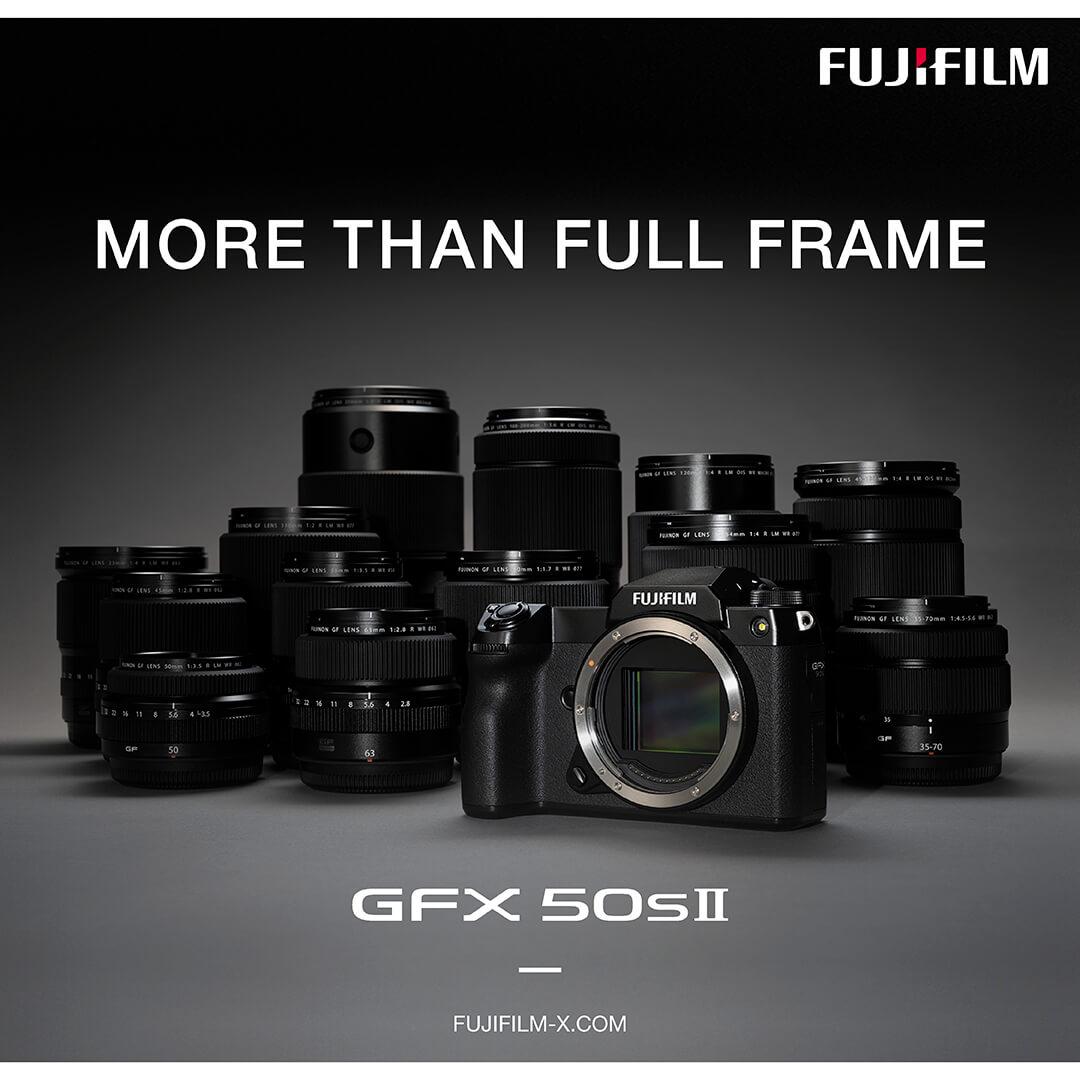 Produktankündigung Fujifilm GFX50S II