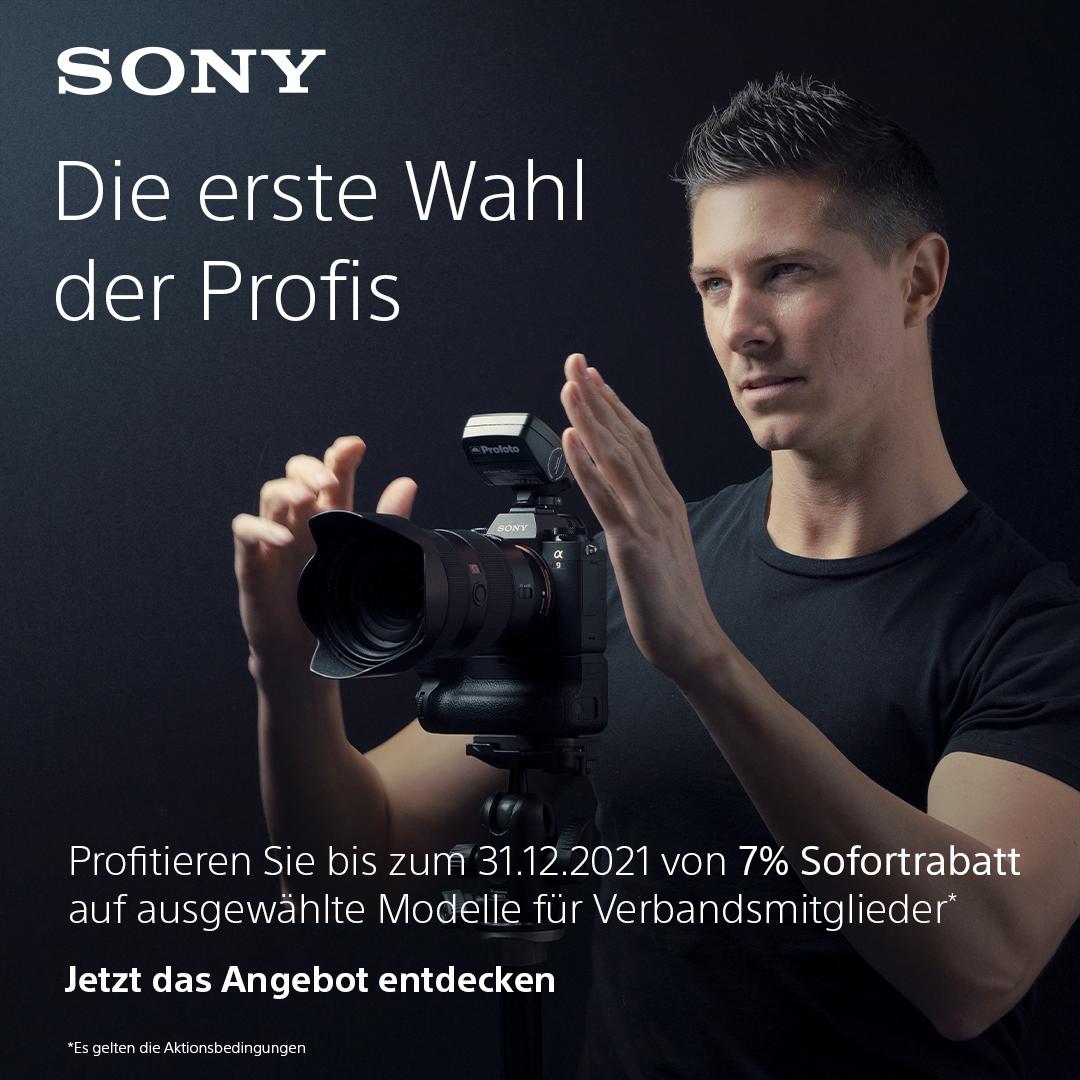 Sony Aktion für Verbandsmitglieder