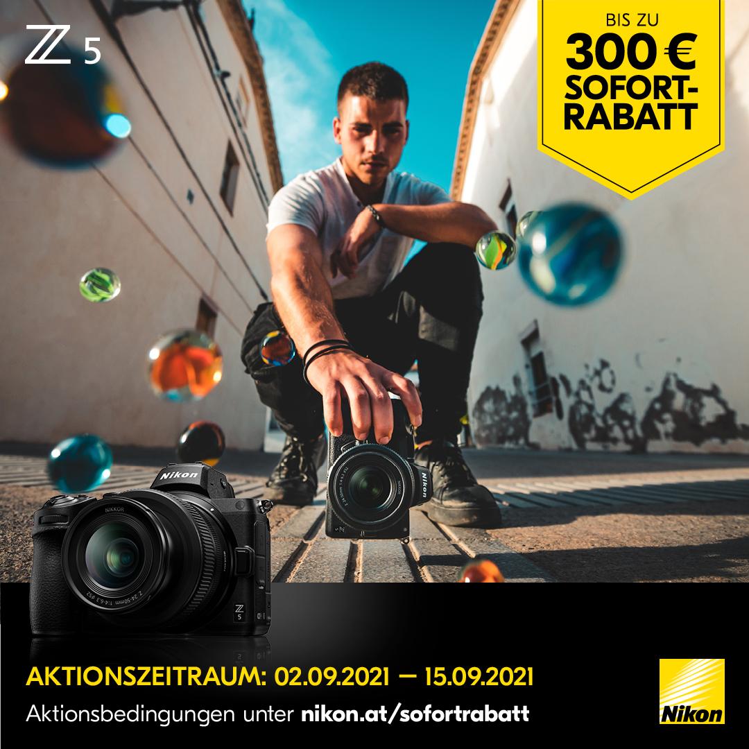 Nikon Z5 Sofortrabatt Aktion