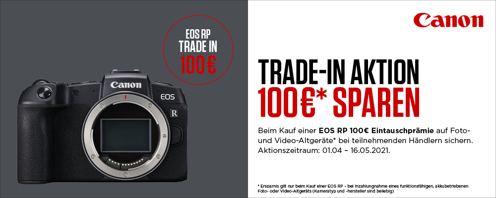 Canon EOS RP Trade-In Aktion