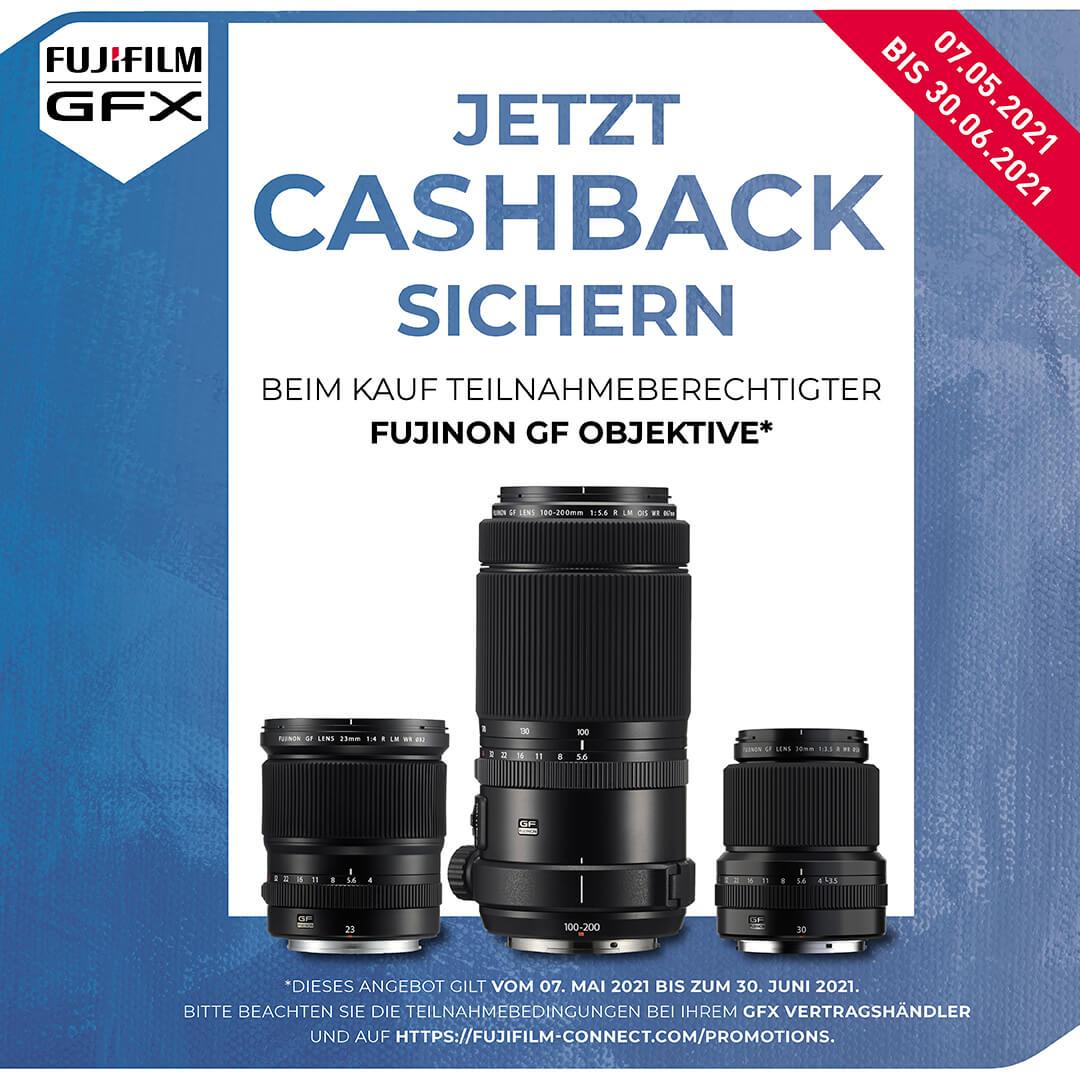 Fujifilm GF-Sommer Cashback Aktion