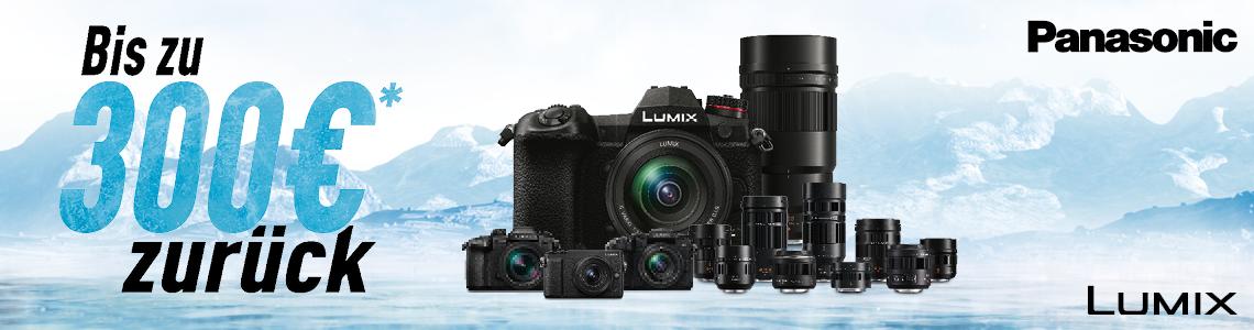 Lumix Cashback Aktionswochen - bis zu 300 € retour