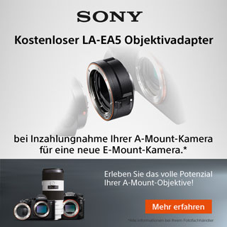 Sony Eintauschaktion A-Mount Kameras