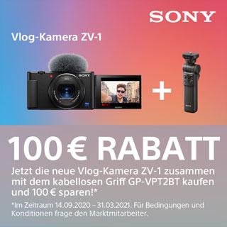 Sony ZV-1 Zubehöraktion