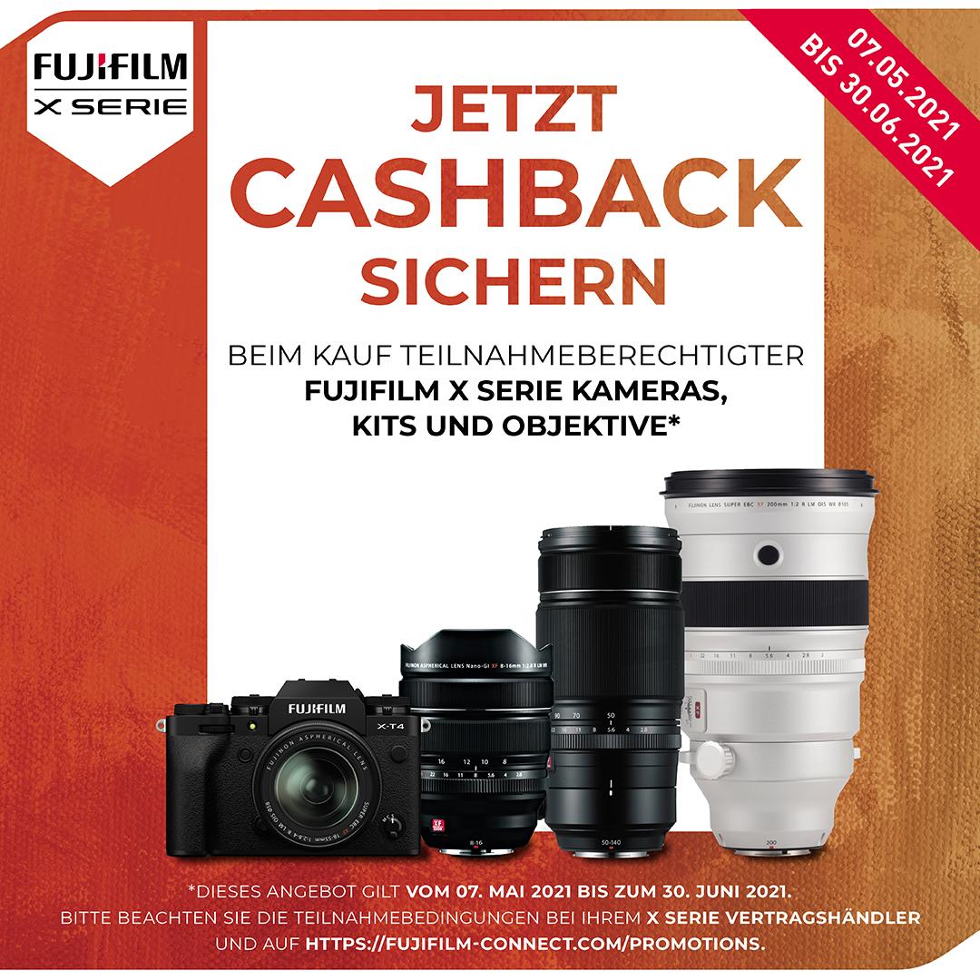 Fujifilm X-Sommer Cashback