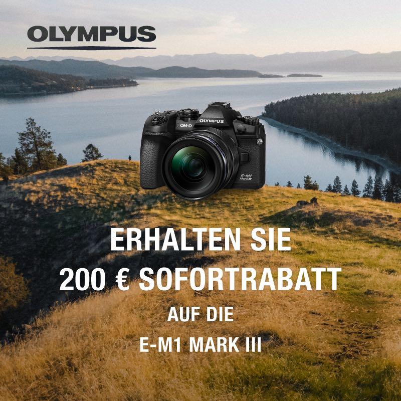 Olympus E-M1 III 200€ Sofortrabatt