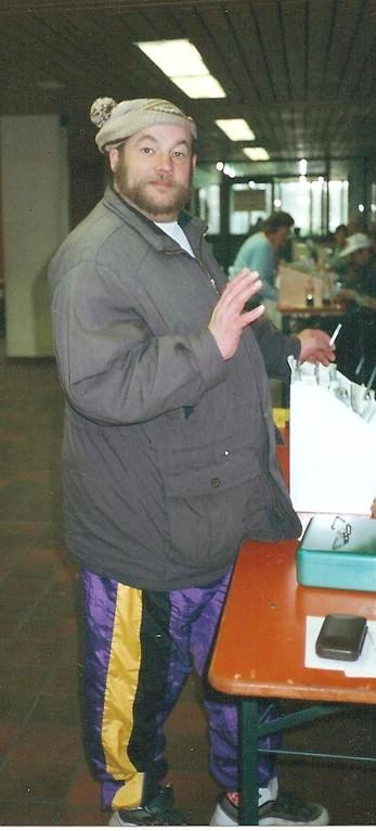 Fotograf: Unbekannt (Karlheinz im Jahre 1999 auf dem Wandertag in Mengen )