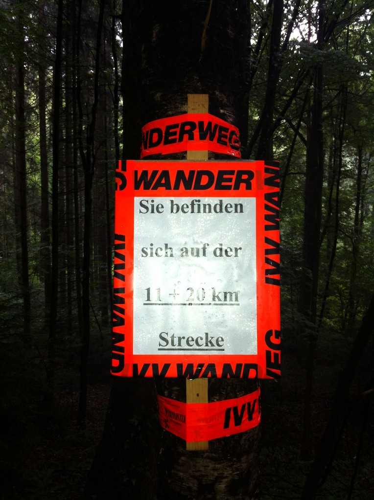 20 km Strecke in Oberzell 2013 Fotos K.K.