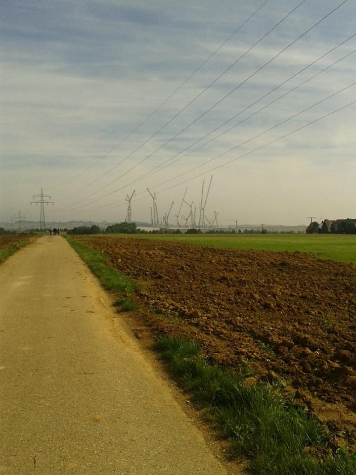 Bilder von der 6km, 10km und 20km Strecke (Fotos: Werner H. – Würzburg)