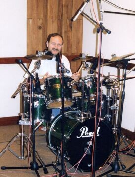 Enrique Pla drums CD Produktion Havanna 2002 Clarissa y familia latina
