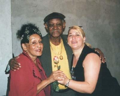 Omara Ibrahim Ferrer Clarissa Jazzfestival Havanna  2002