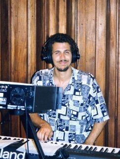 Roberto Carcasses piano CD Produktion Havanna 2002 Clarissa y familia latina