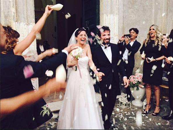 ANdrea Delogu e Francesco Montanari sposi al Borgo Boncompagni Ludovisi