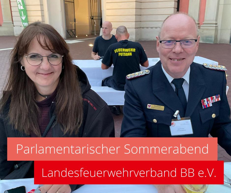 Parlamentarischer Sommerabend mit dem Landesfeuerwehrverband