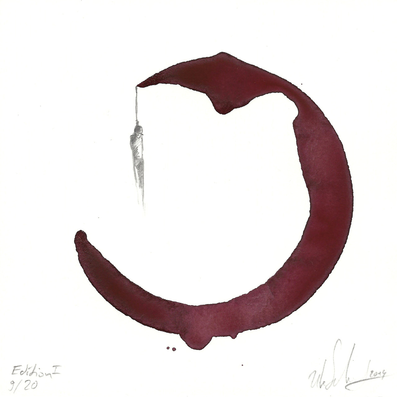 redwinedrawing  11x11cm  2014