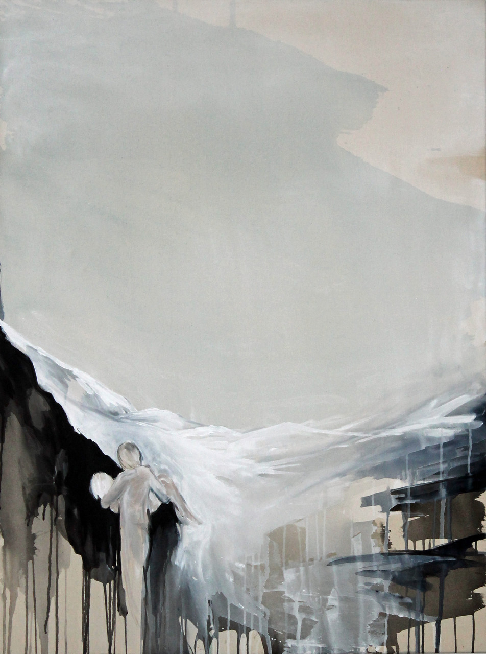 """the guardian II"" acryl auf leinwand 120x90 2015"