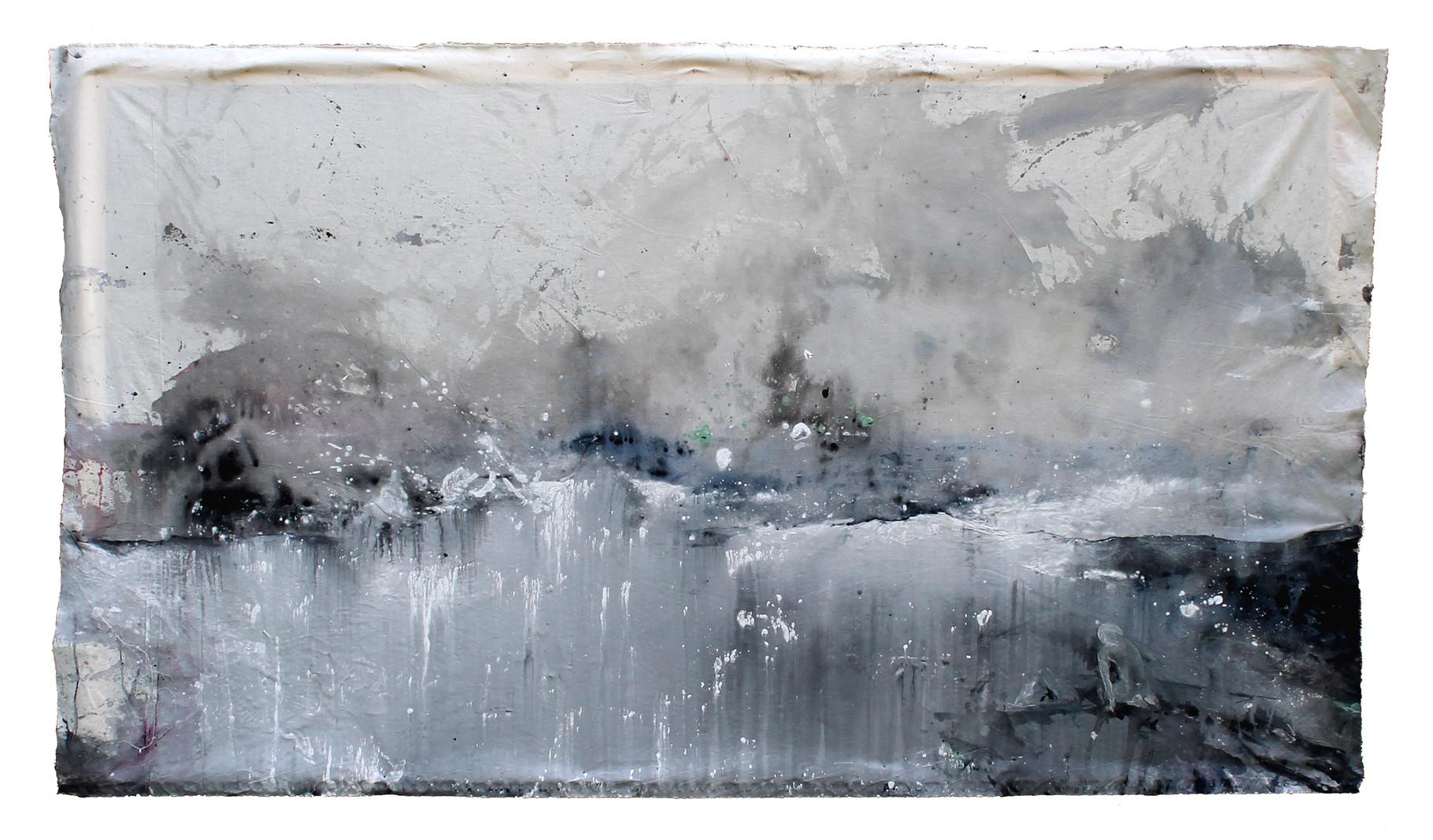"""""""light and void""""   acryl auf Leinwand  150x200cm  2012"""