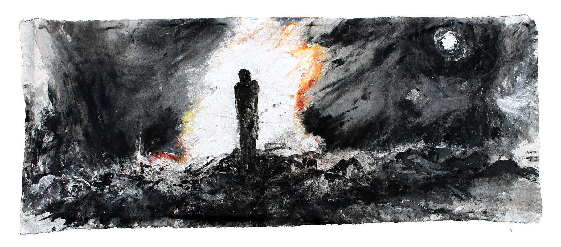 """""""pyrophoros""""   acryl auf Leinwand  80x120cm  2012"""