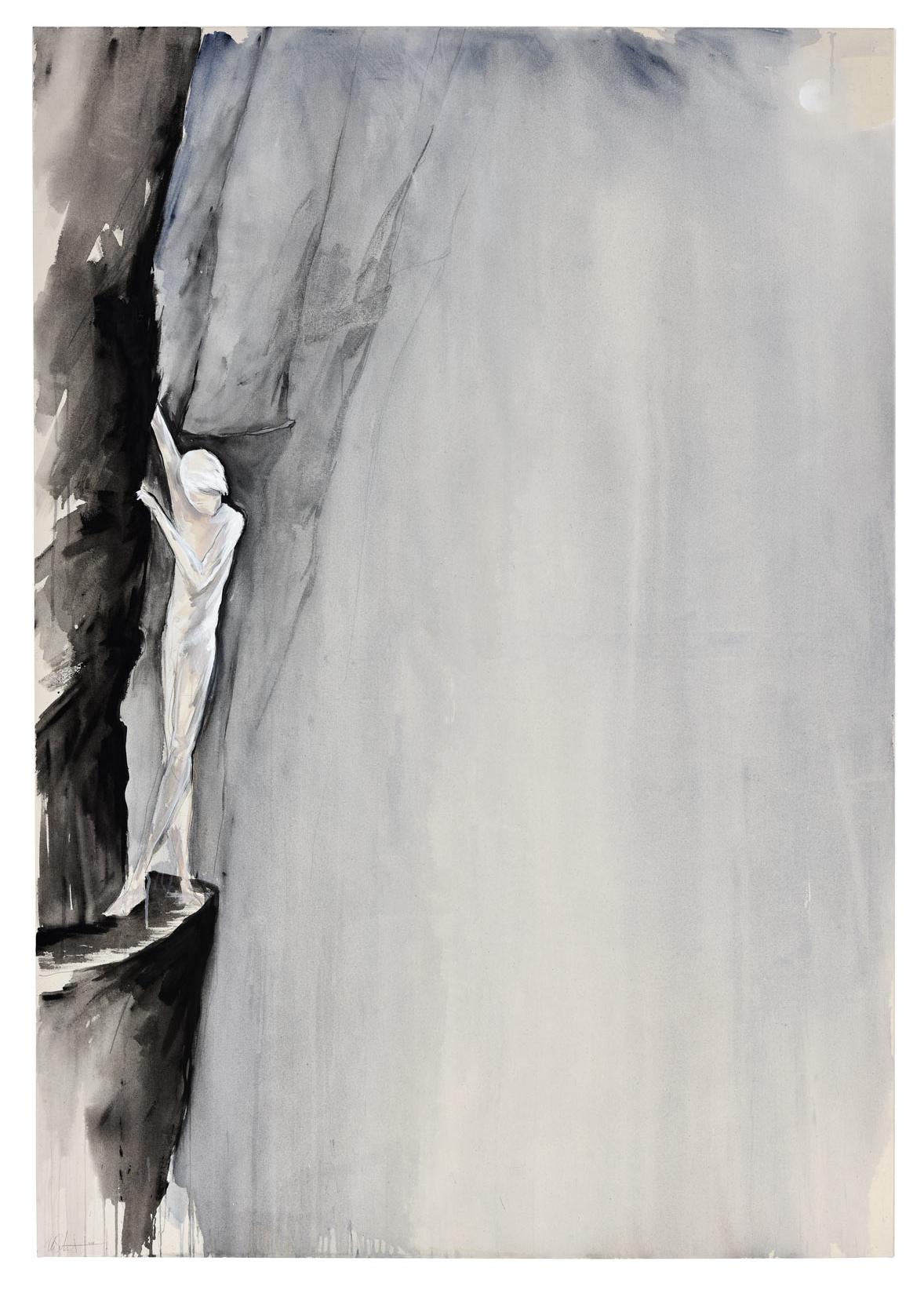 """""""the edge"""" acryl auf leinwand 140x200 2016"""