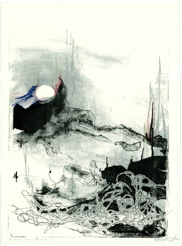 """""""dawn""""  56x76cm 2012 (sold)"""