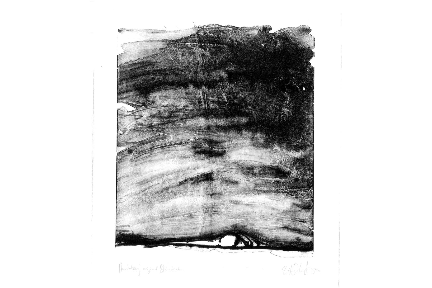 """""""noir"""" 65x50cm 2009"""