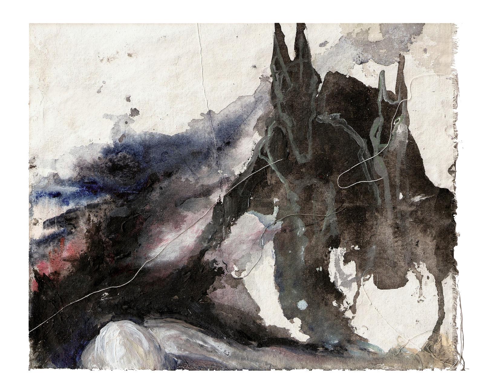 """""""daniel / Spark""""   acryl auf Leinwand  20x20cm  2011"""