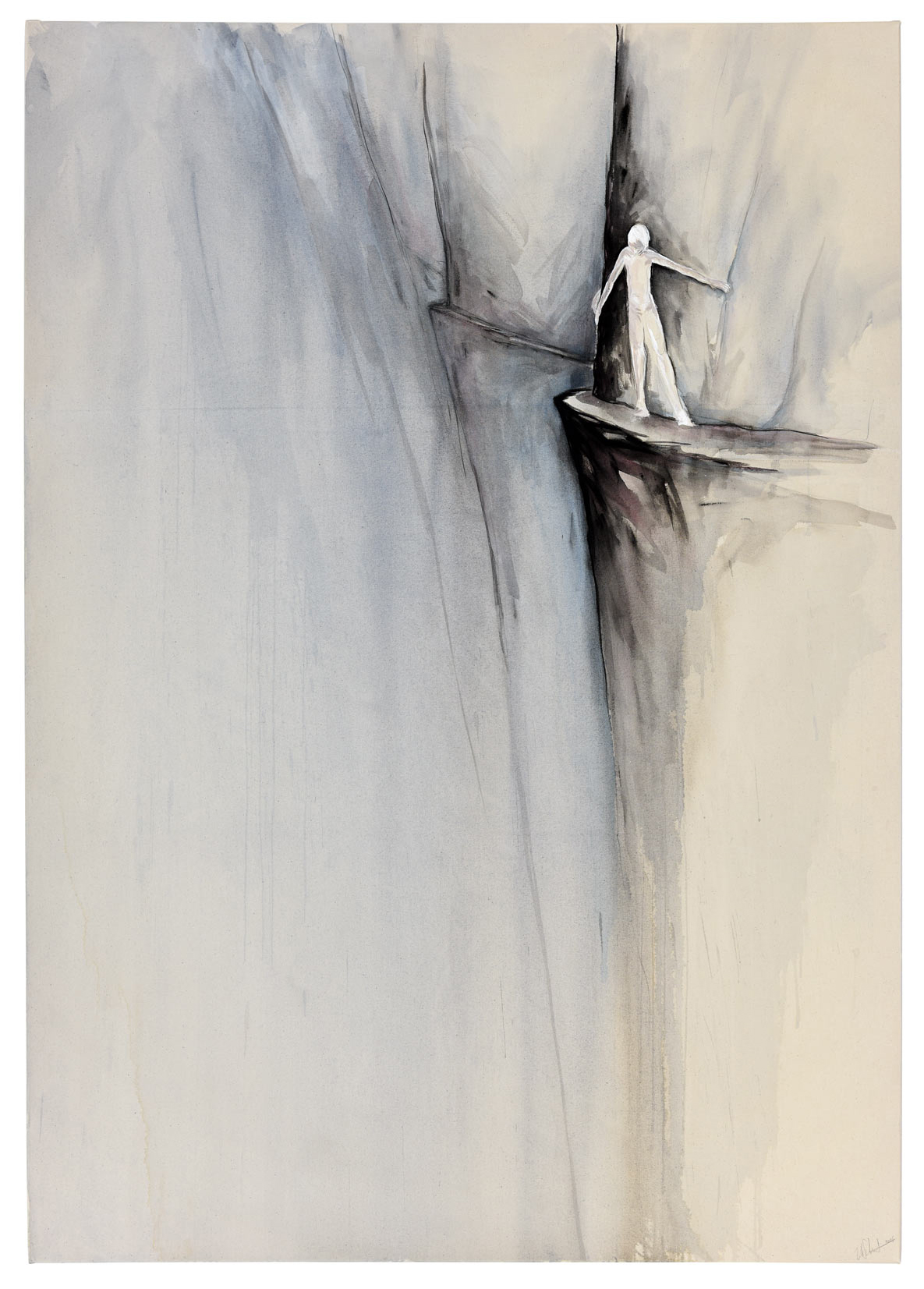 """""""the path"""" acryl auf leinwand 140x200 2016"""