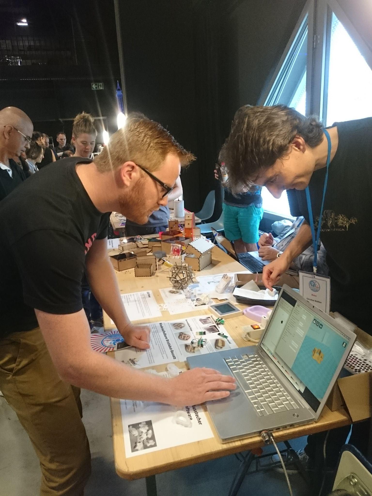 Besuch der MakerFaire in Zürich