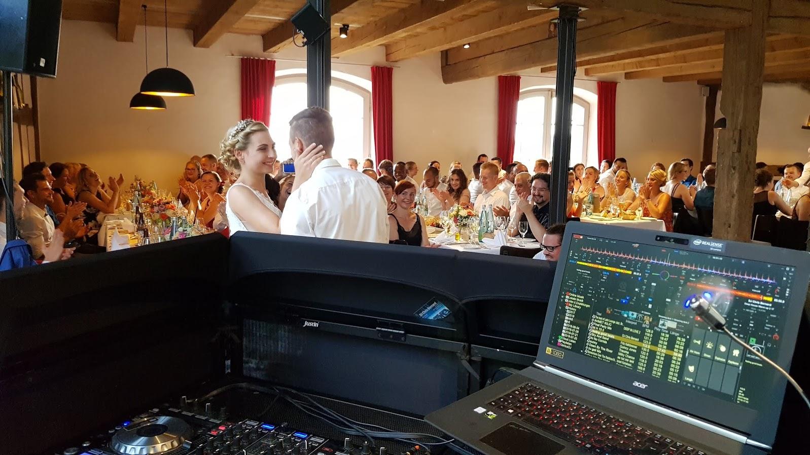 Hochzeitsfeier am Bodensee