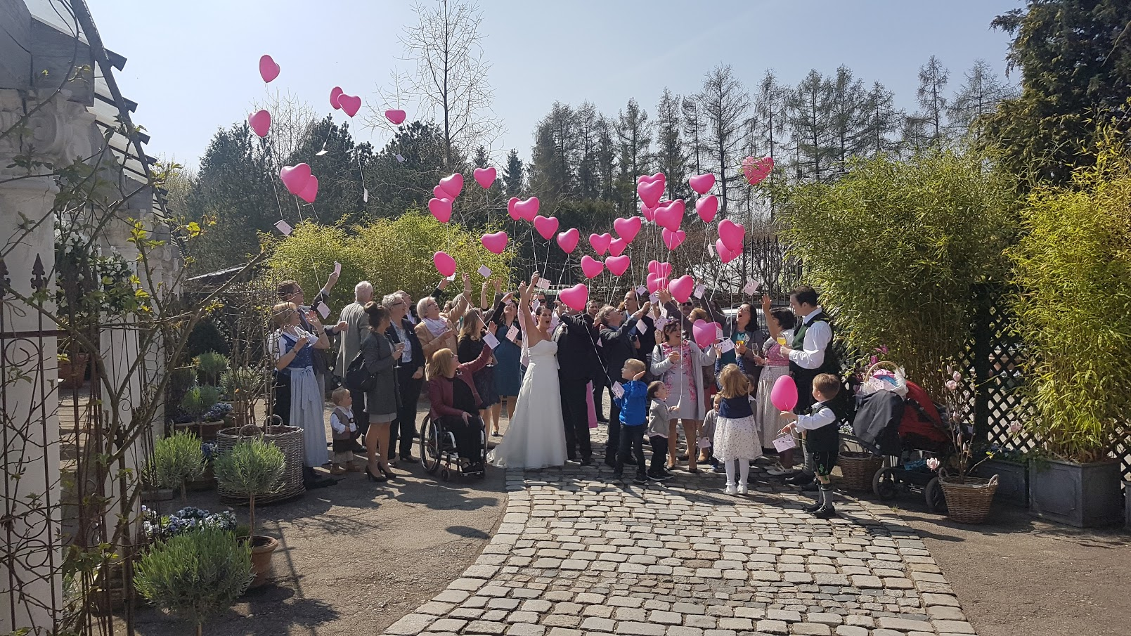 Wedding  - Alte Gärtnerei - April 2017