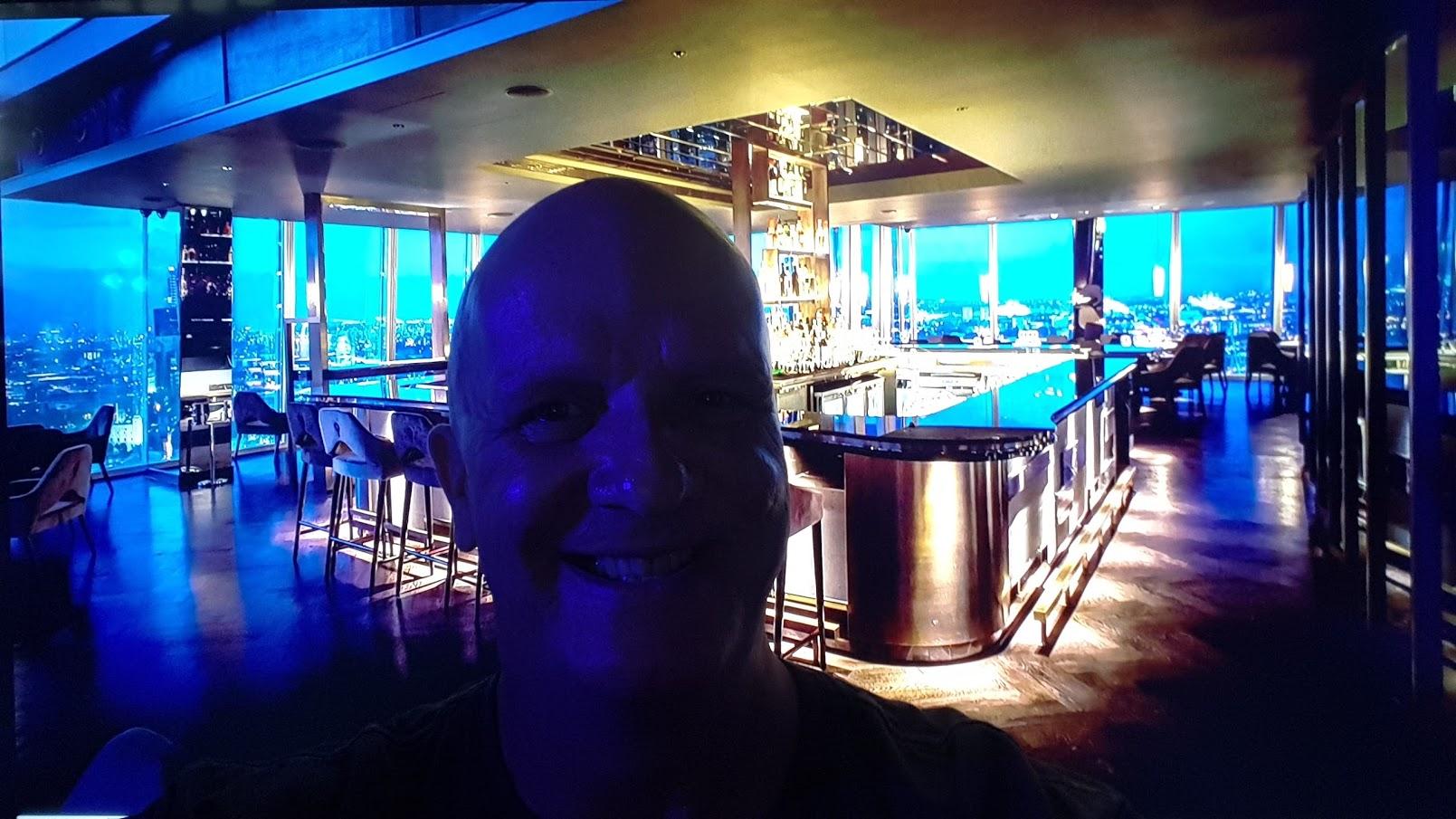 DJ Chris Bernard @ Business Lounge Event Shard London