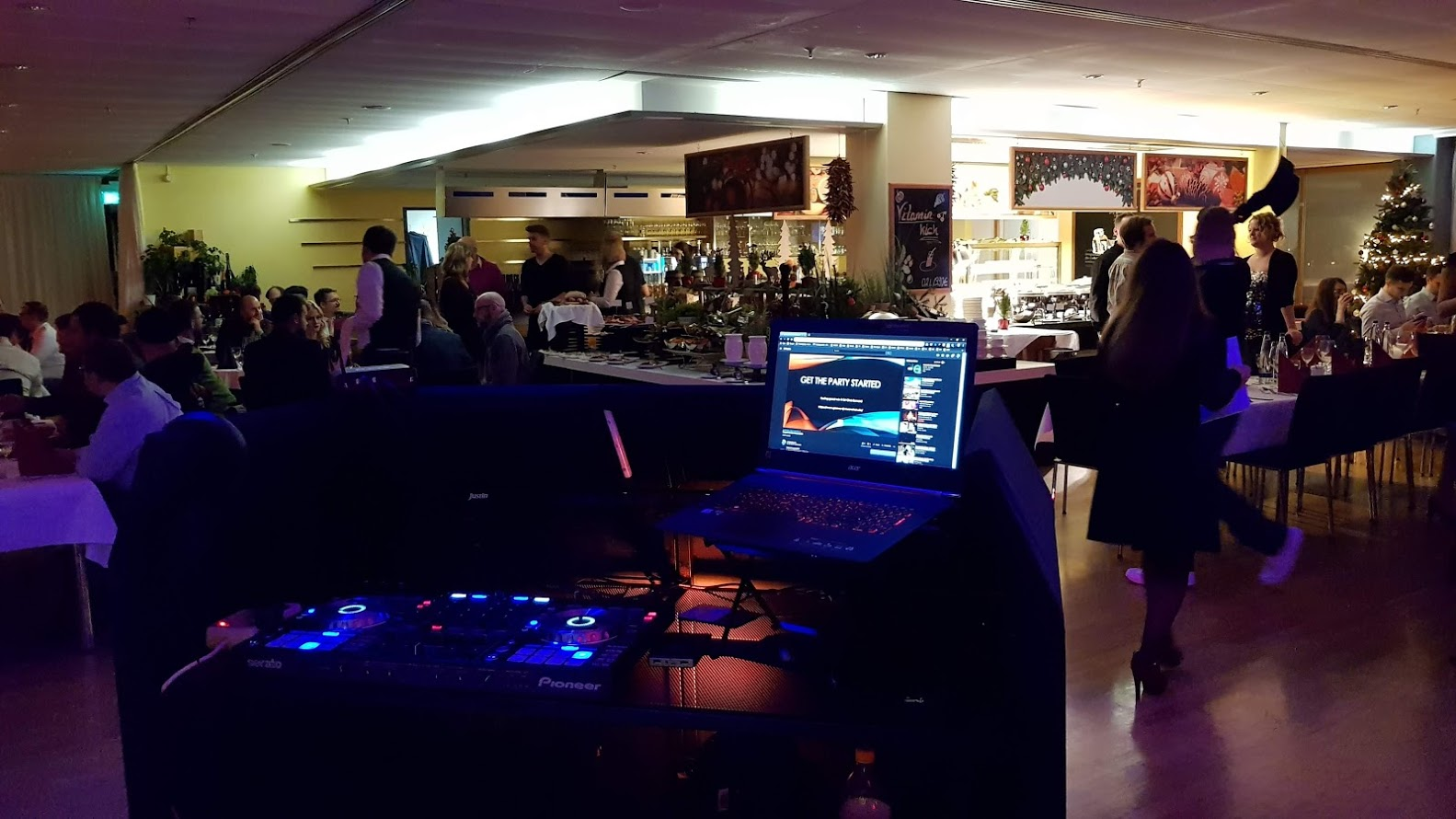 Cooperated Party Event Airport Frankfurt