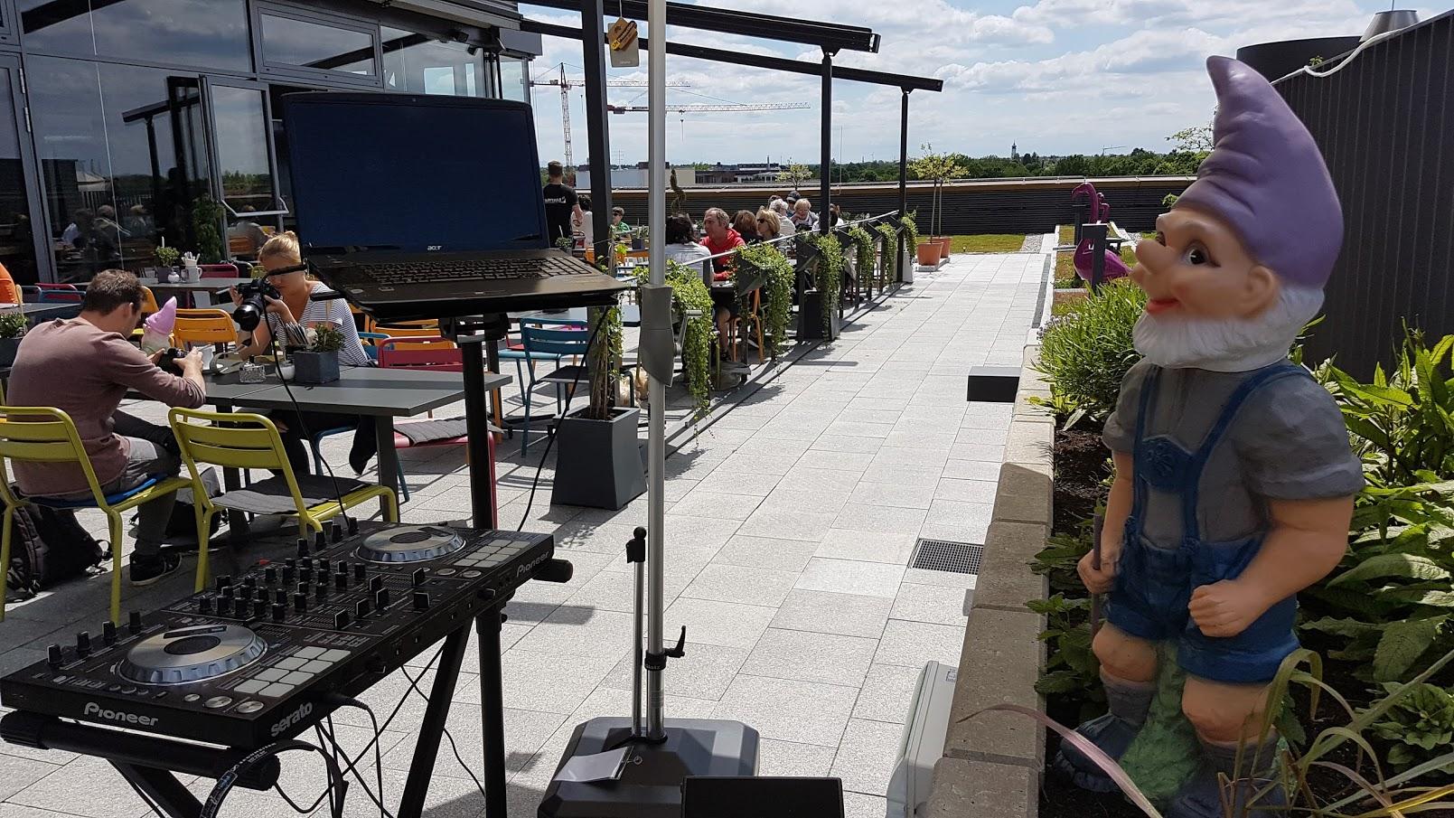 Rooftop Chill & Lounge Party über den Dächern Münchens