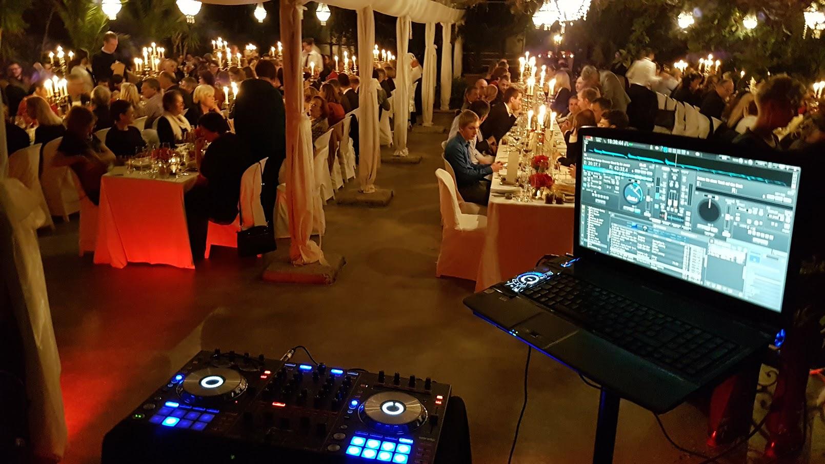 Firmenevent in der Alten Gärtnerei mit DJ Chris Bernard