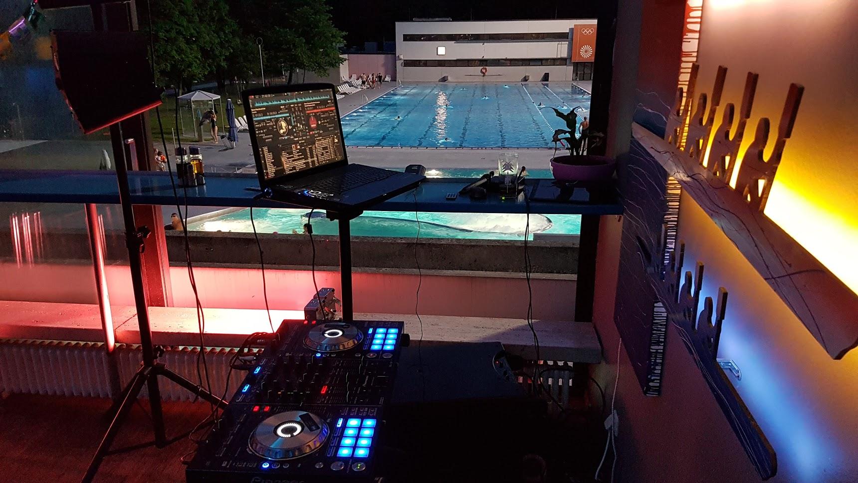 Party am Schwimmbad - ein Geheimtipp