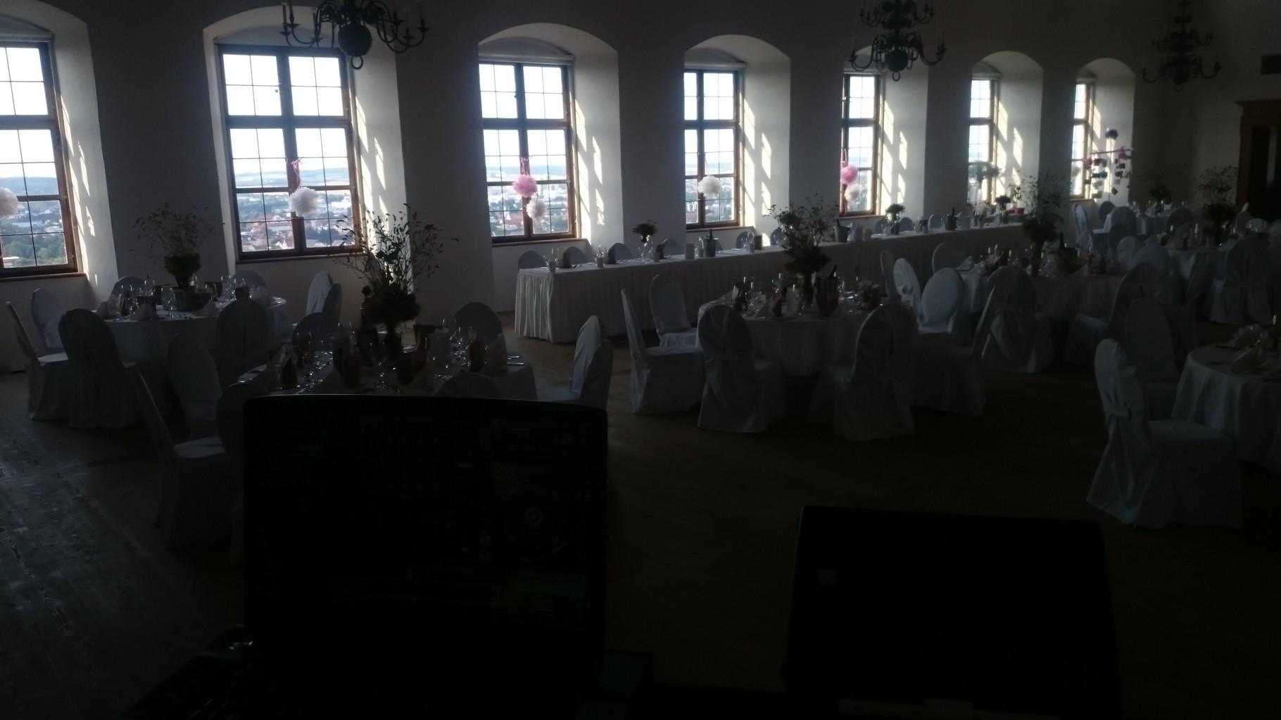 Hochzeit über den Dächern in Landshut