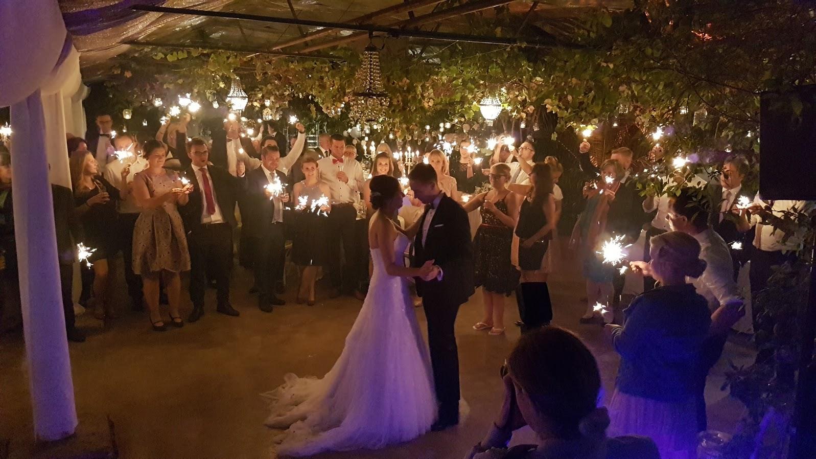 """Hochzeitstanz in der """"Alten Gärtnerei"""""""