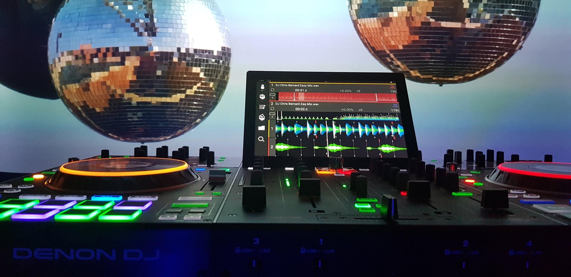 Mein großer Stolz ist die 2020 auf dem Markt platzierte Denon Prime 4 DJ Console - unübertreffliche Performance beim DJing.